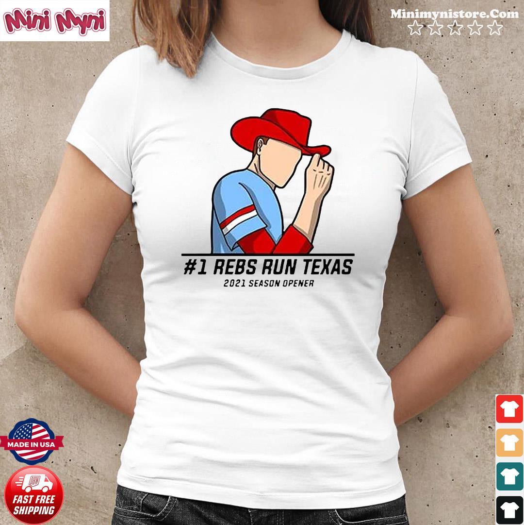 #1 Reps Run Texas 2021 Season Opener Shirt