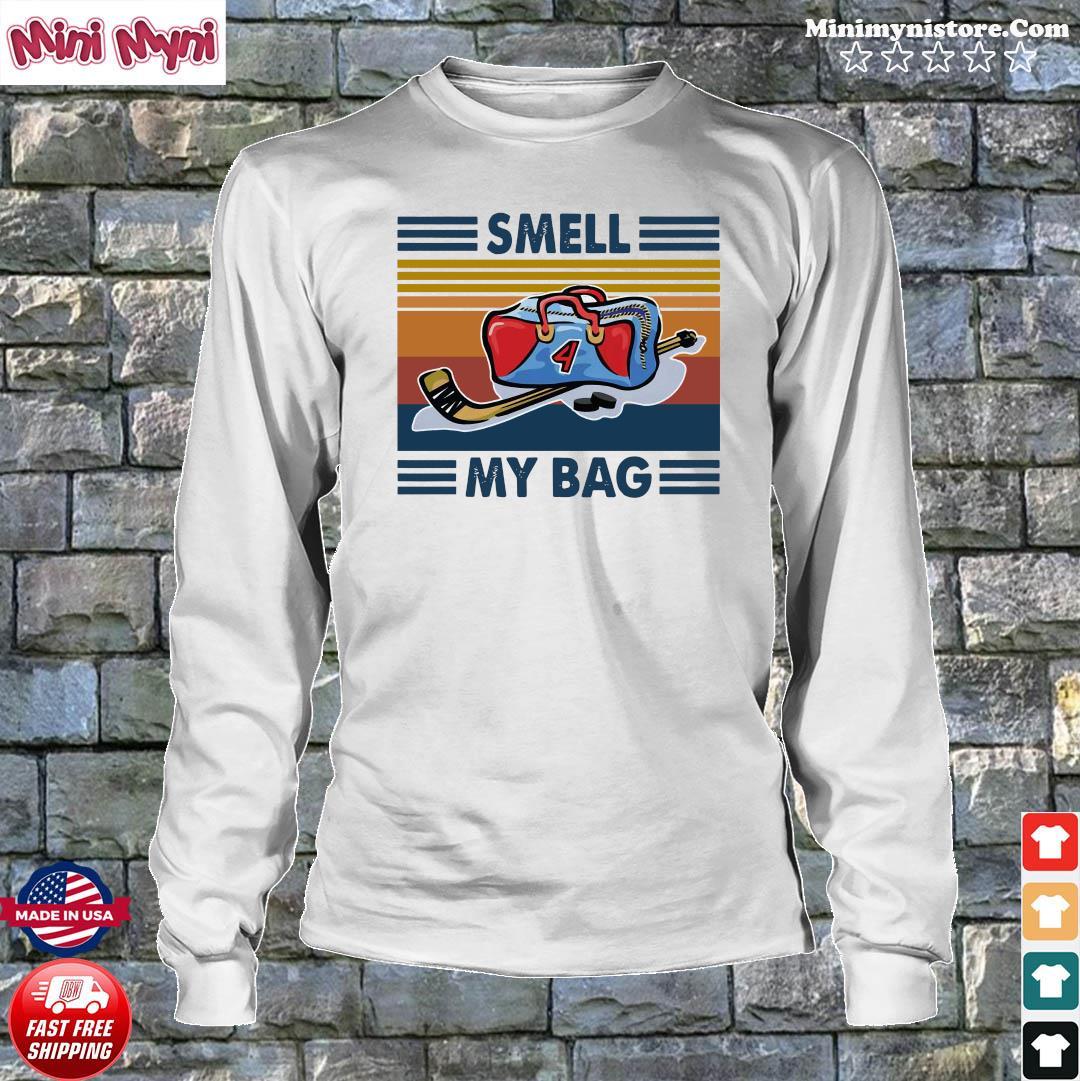 Smell My Bag Vintage Retro Shirt Longsweater