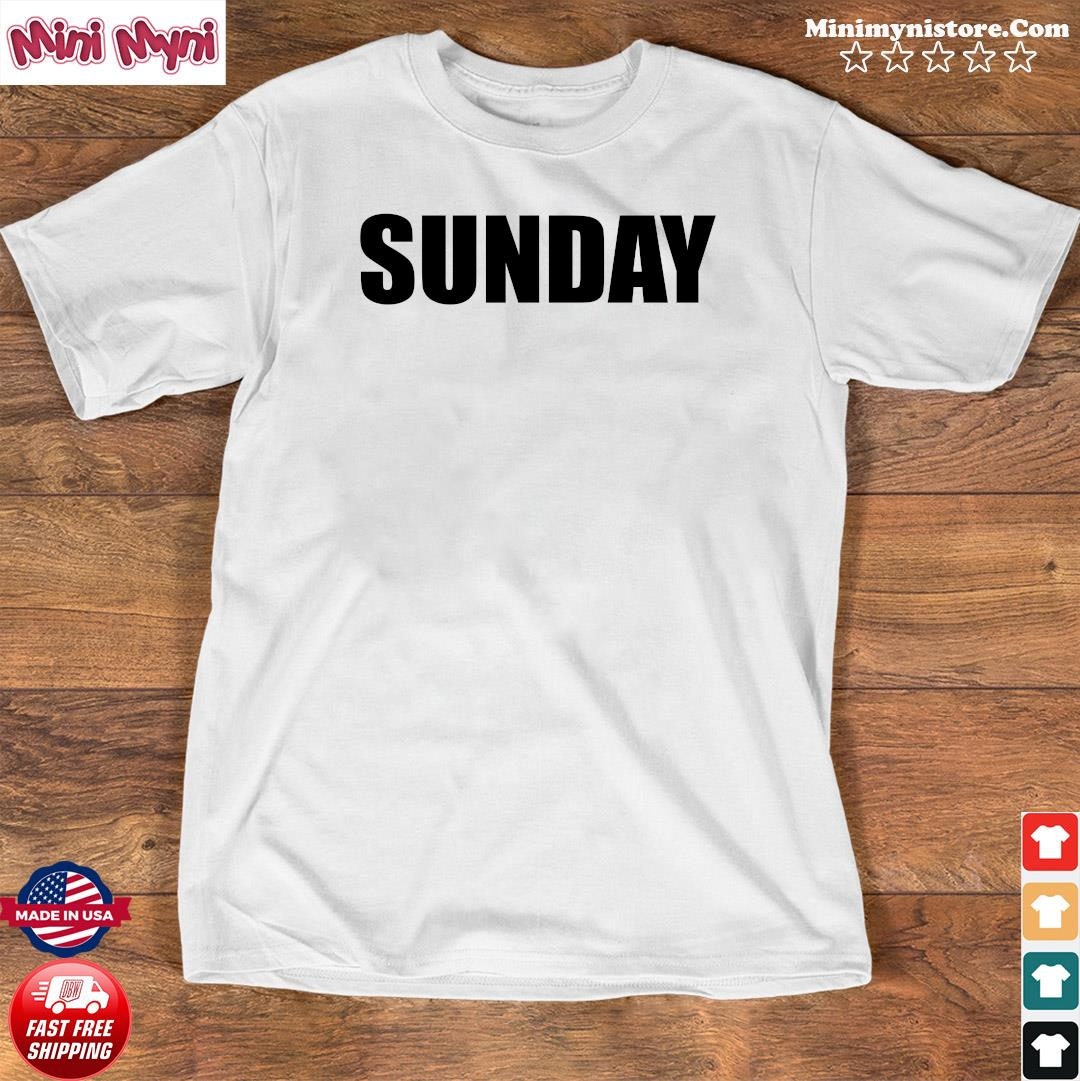 Sunday Red Golf Shirt Shirt