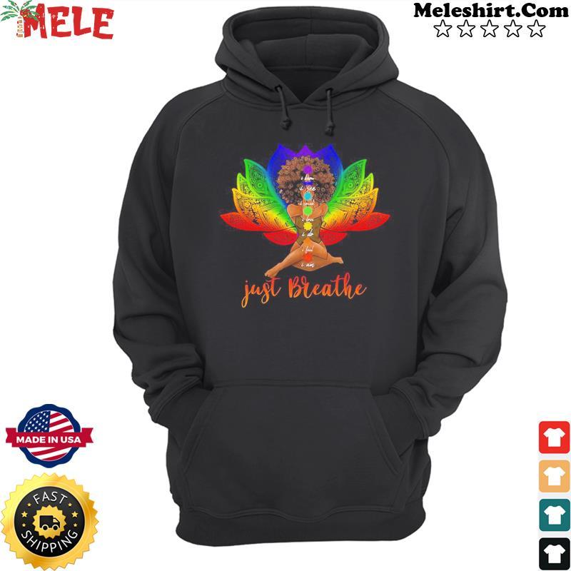 Black girl yoga Classic T-Shirt Hoodie