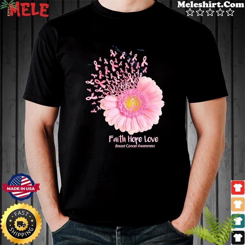 Faith Hope Love Breast Cancer Awareness Shirt Masswerks Store
