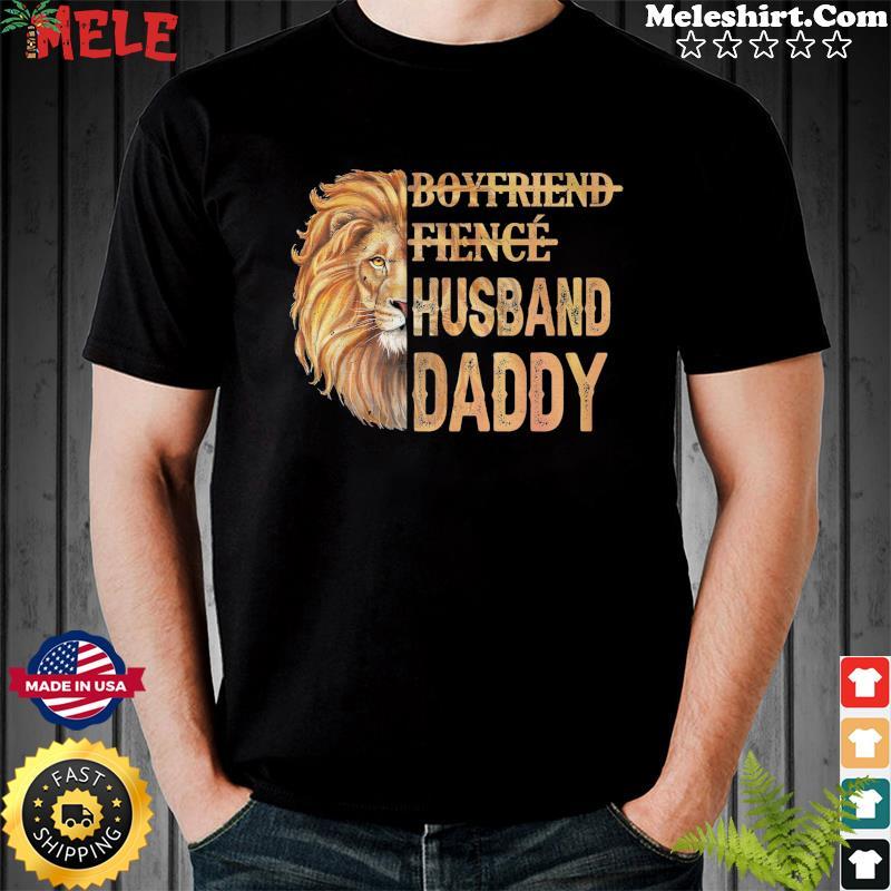 Lion Boyfriend Fience Husband Daddy Classic Shirt