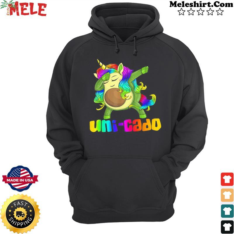 Unicorn Avocado Dabbing Uni-cado Shirt Hoodie