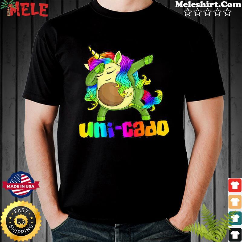Unicorn Avocado Dabbing Uni-cado Shirt