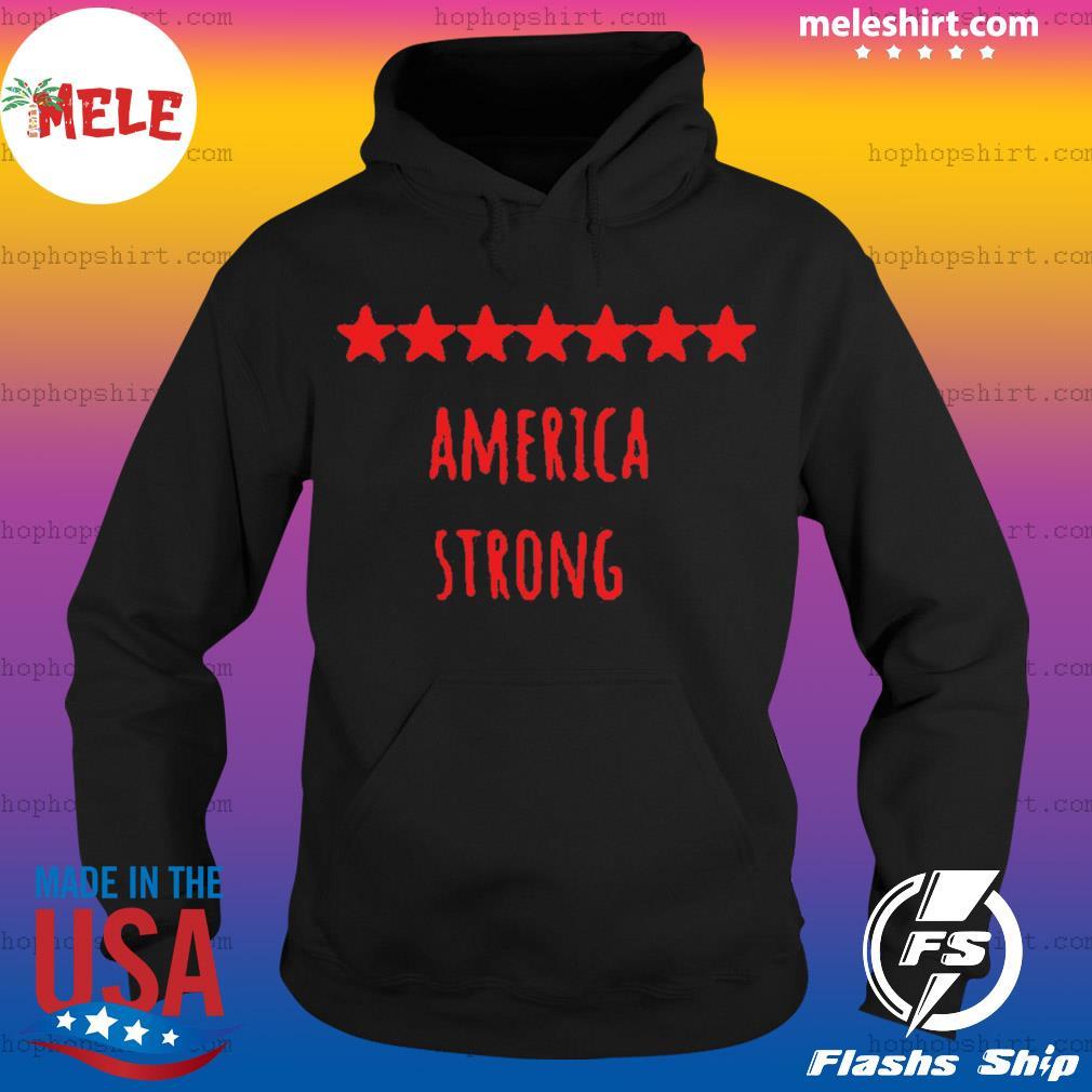 America Strong Coronavirus Captain US Shirt Hoodie