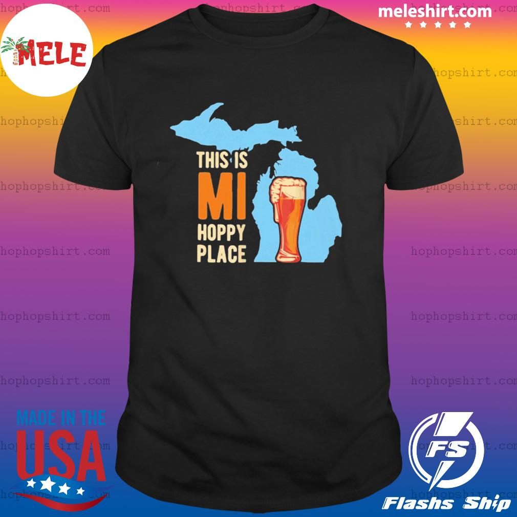 Mi Beer Drinking Michigan Brewery Microbrew shirt