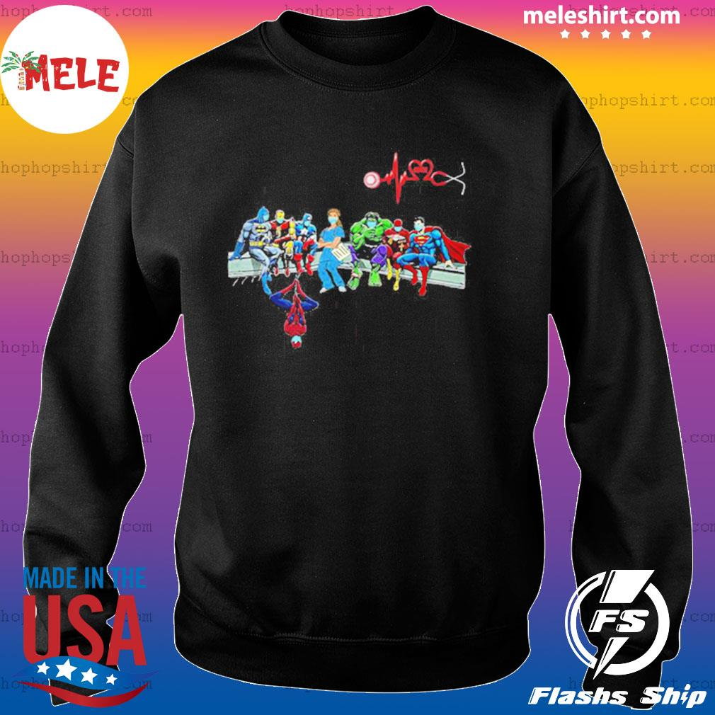 Doctor And Superheroes Nurse Healthcare Worker 2020 s Sweater
