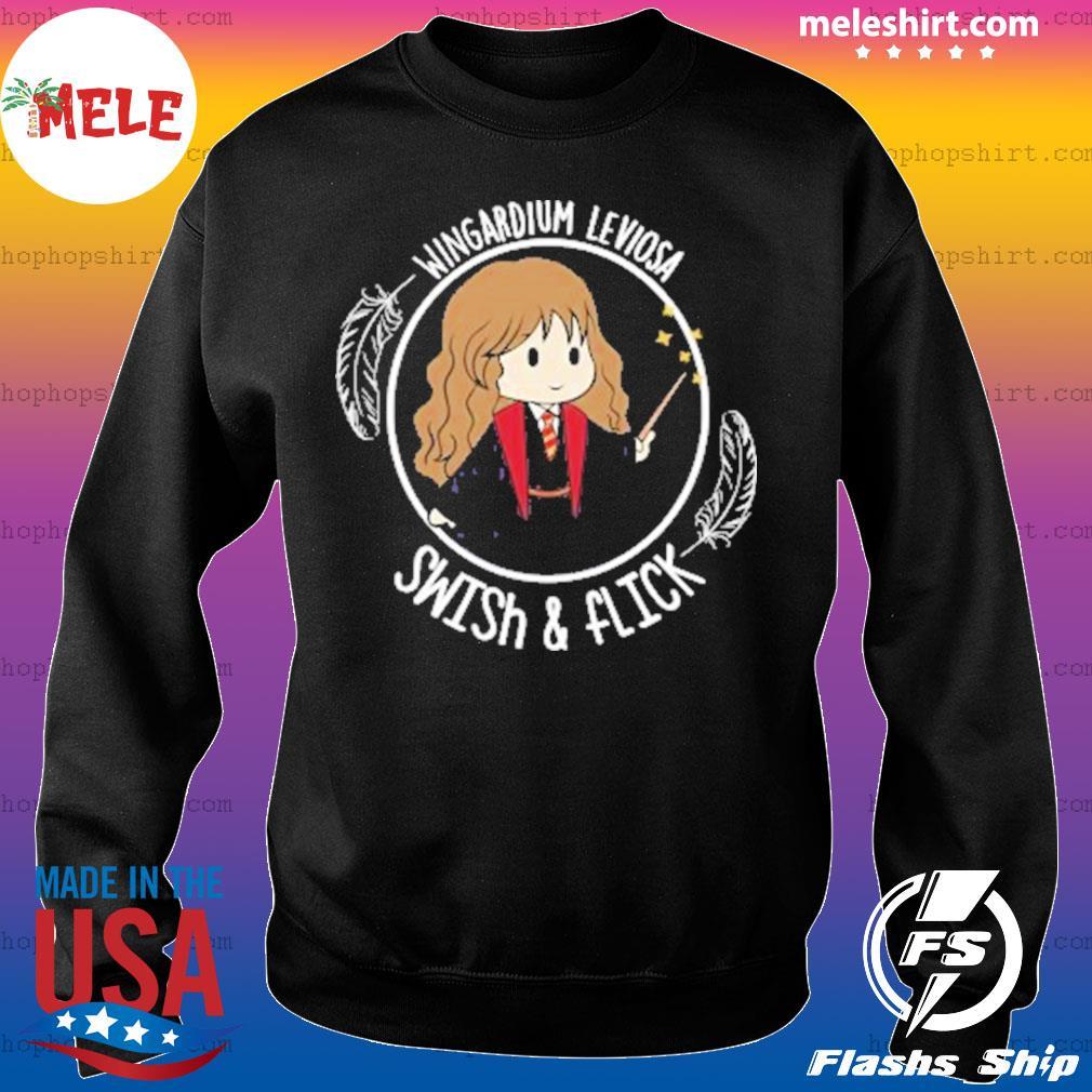 Hermione Wingardium Leviosa Swish and Flick s Sweater
