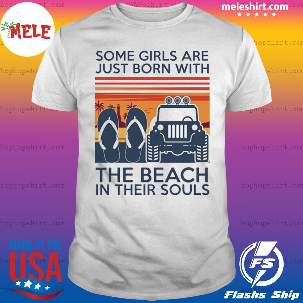 Jeep Girl Flip Flops T Shirt Tank Top