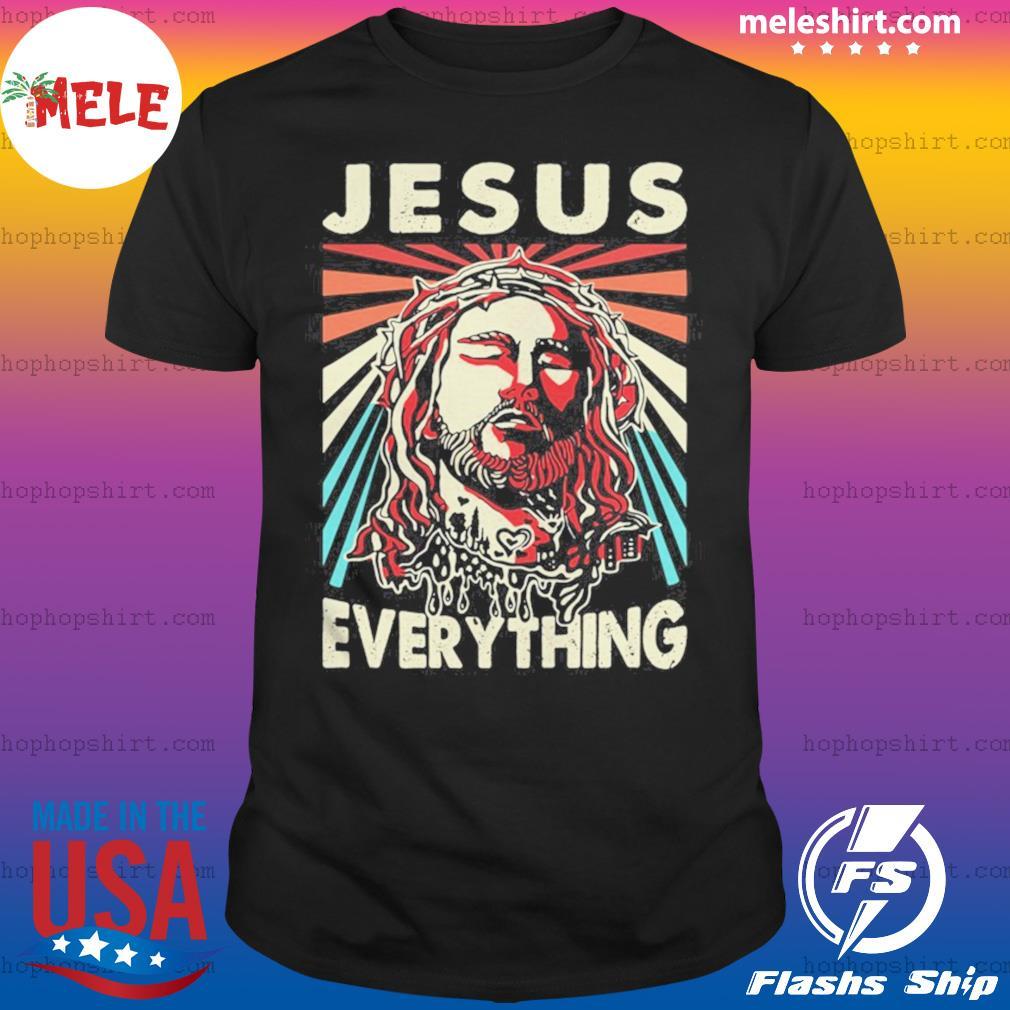 Jesus everything vintage retro shirt