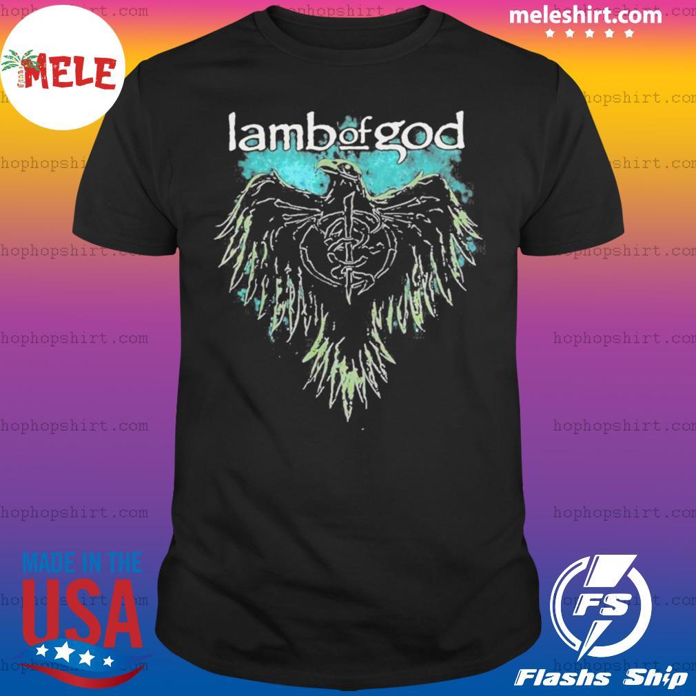 Lamb Of God Phoenix Skeleton shirt