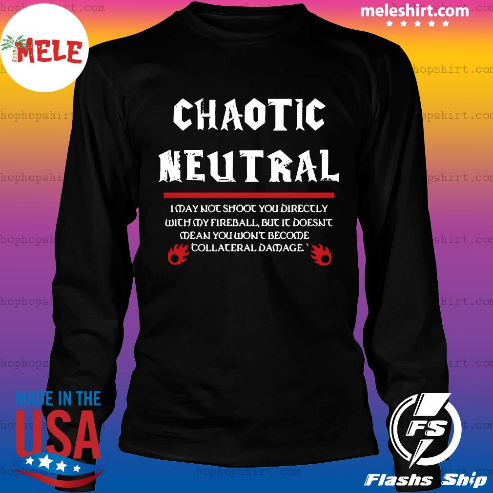 Chaotic Neutral Shirt LongSleeve