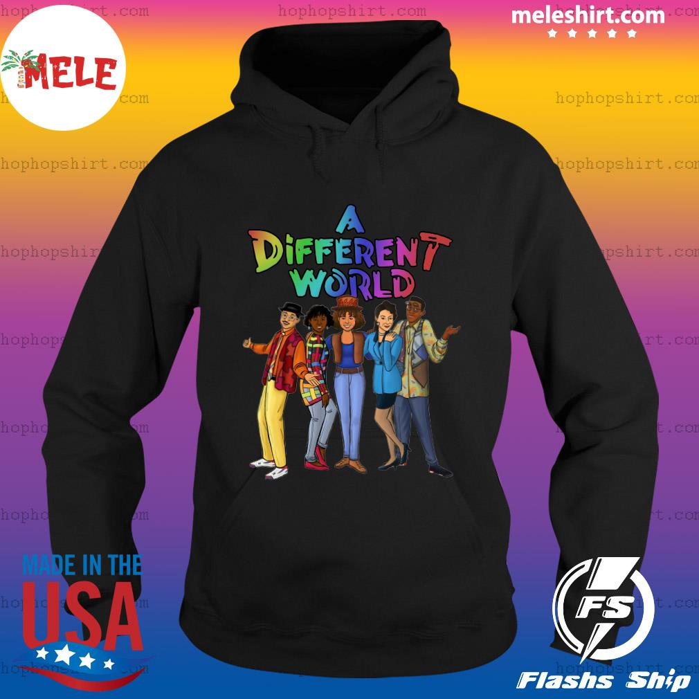LGBT A Different World Shirt Hoodie