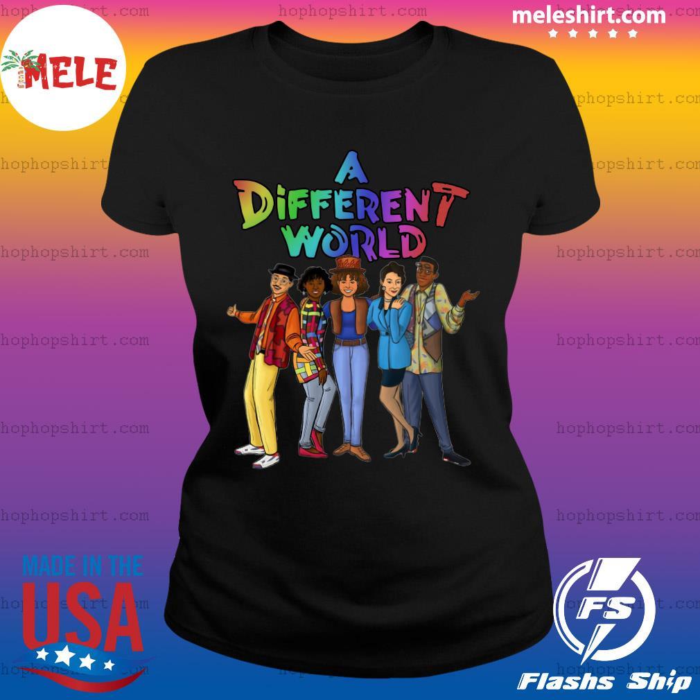 LGBT A Different World Shirt Ladies Tee