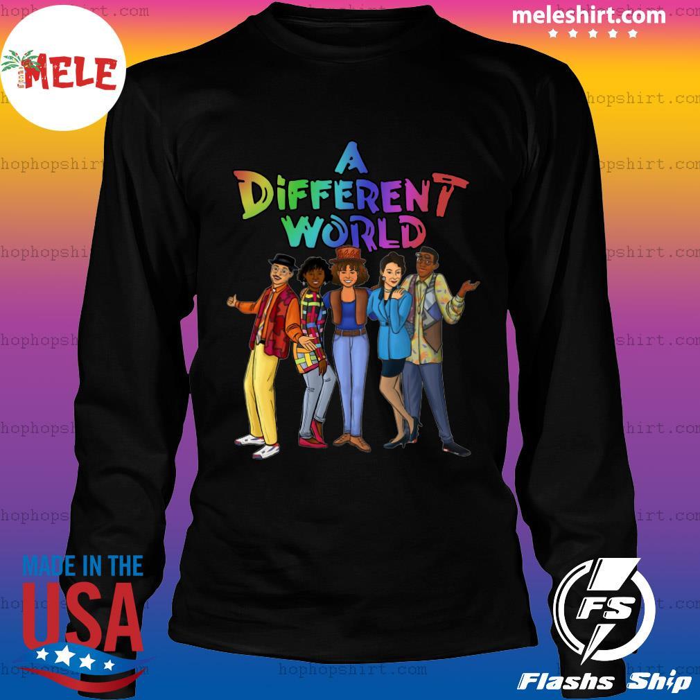 LGBT A Different World Shirt LongSleeve