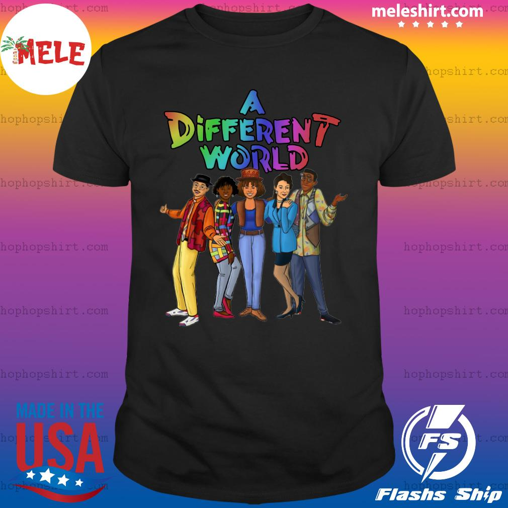 LGBT A Different World Shirt