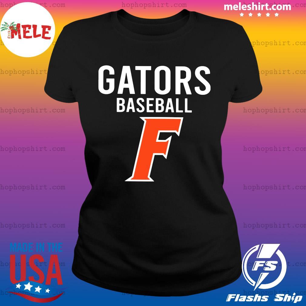 Official Florida Gators Baseball F Shirt Ladies Tee