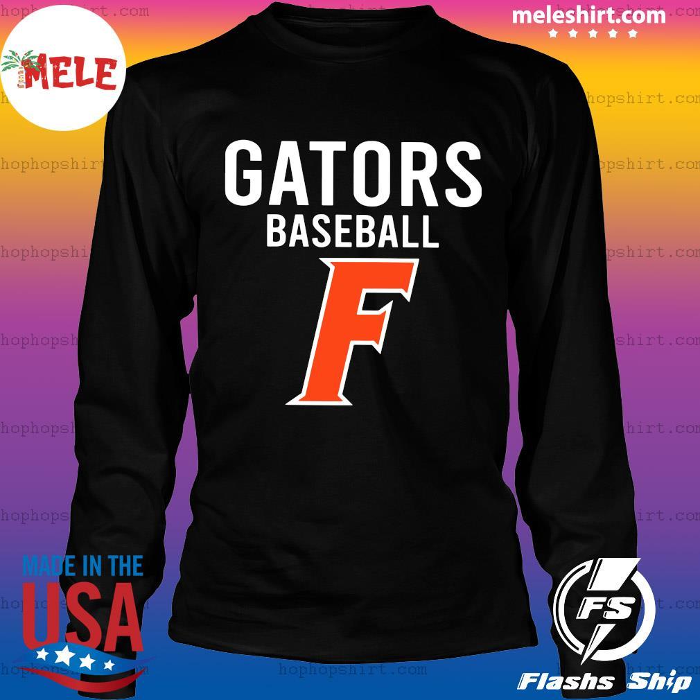 Official Florida Gators Baseball F Shirt LongSleeve