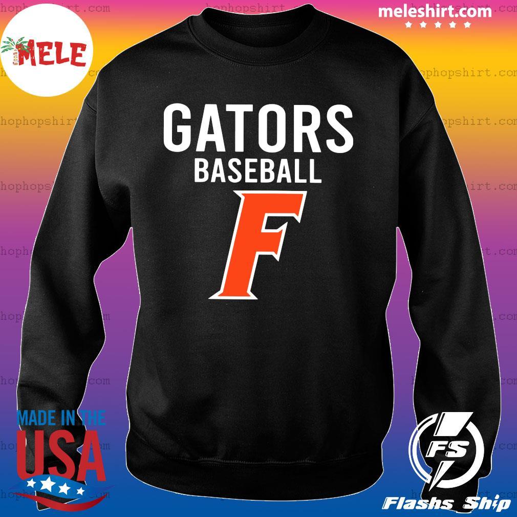 Official Florida Gators Baseball F Shirt Sweater