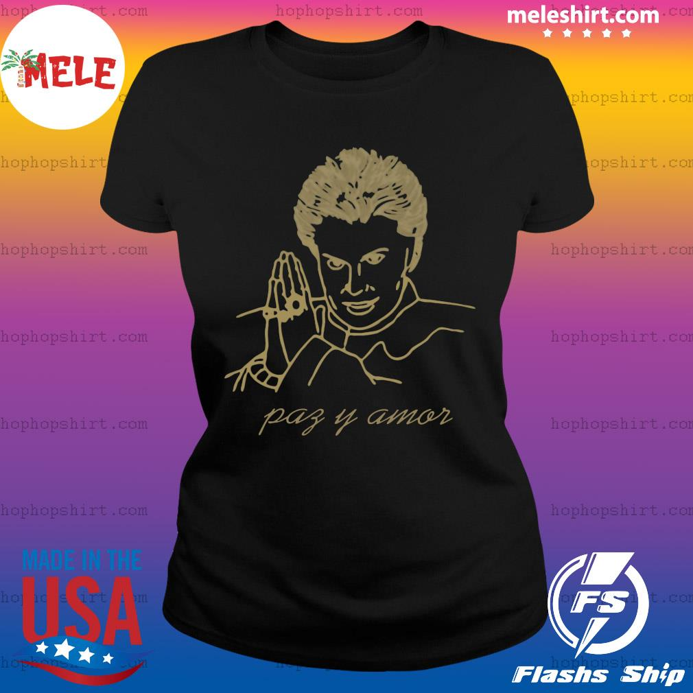Walter Mercado Paz Y Amor Shirt Ladies Tee