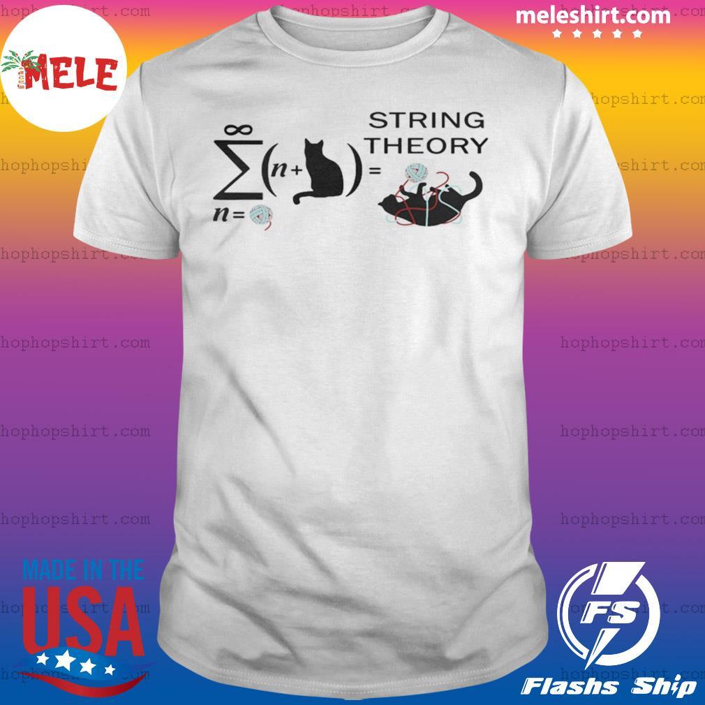 Cat String Theory shirt