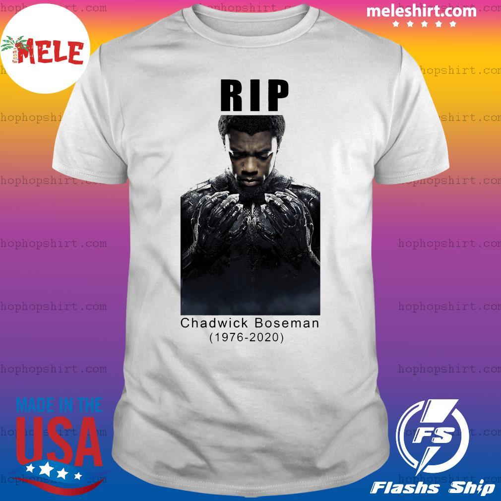 Official Rip Chadwick Boseman Black Panther Signature Shirt