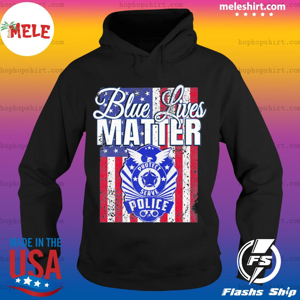Blue Lives Matter Support Police Pro Trump 2020 Premium s Hoodie