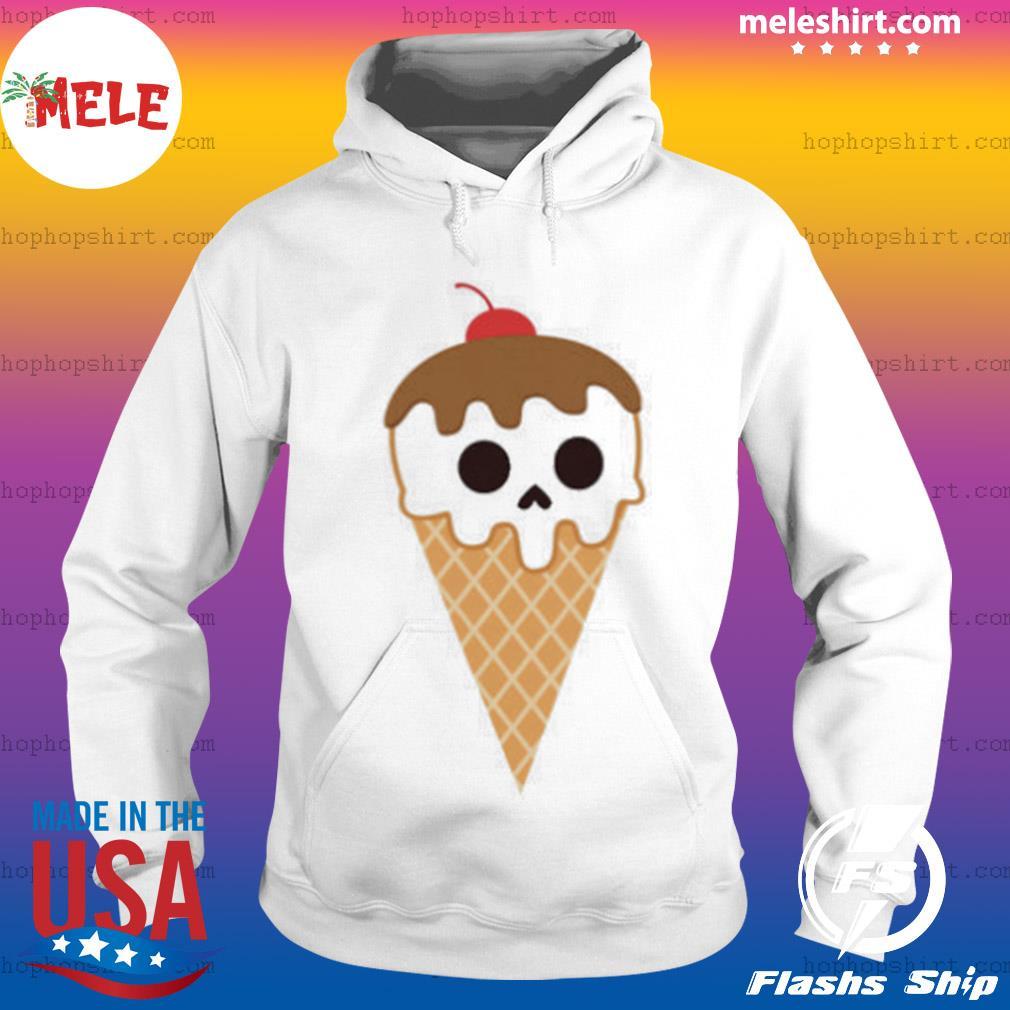 Cream Cones Dia De Los Muertos Day Of The Dead s Hoodie