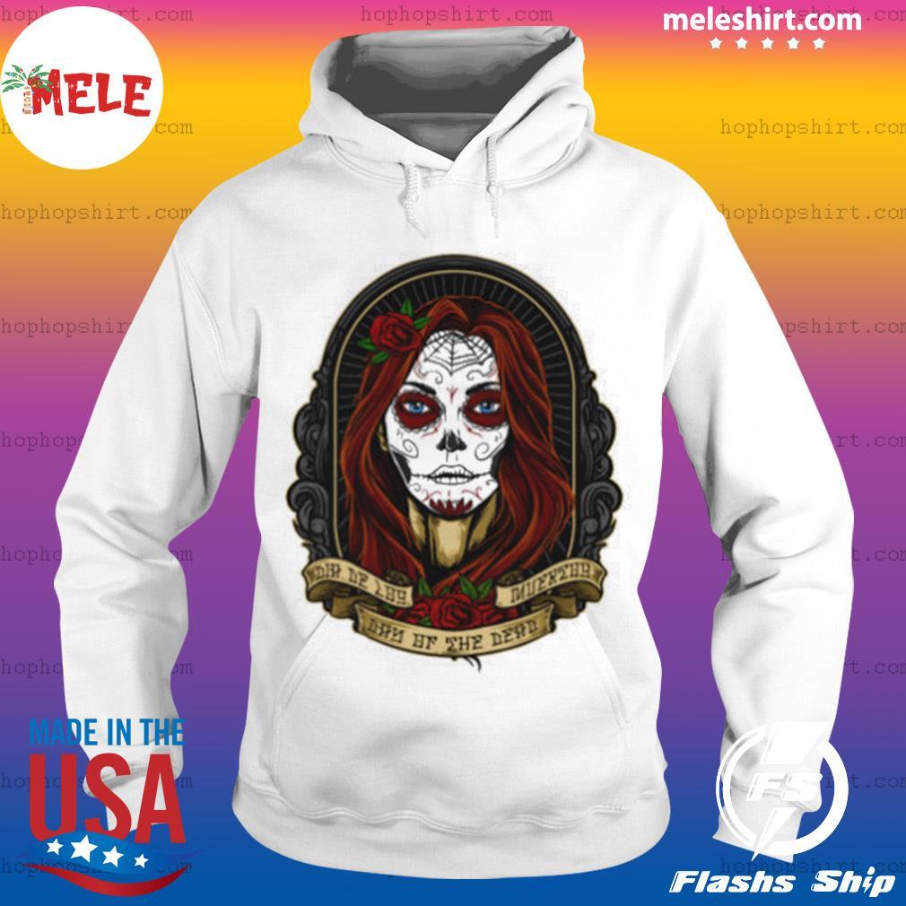 Dia De Los Muertos Day Of The Dead Sugar Skull Girl s Hoodie