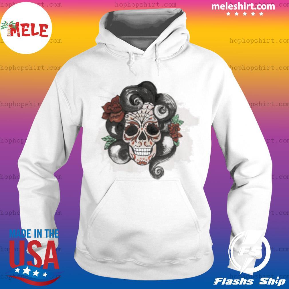 Dia De Muertos Woman Sugar Skull s Hoodie