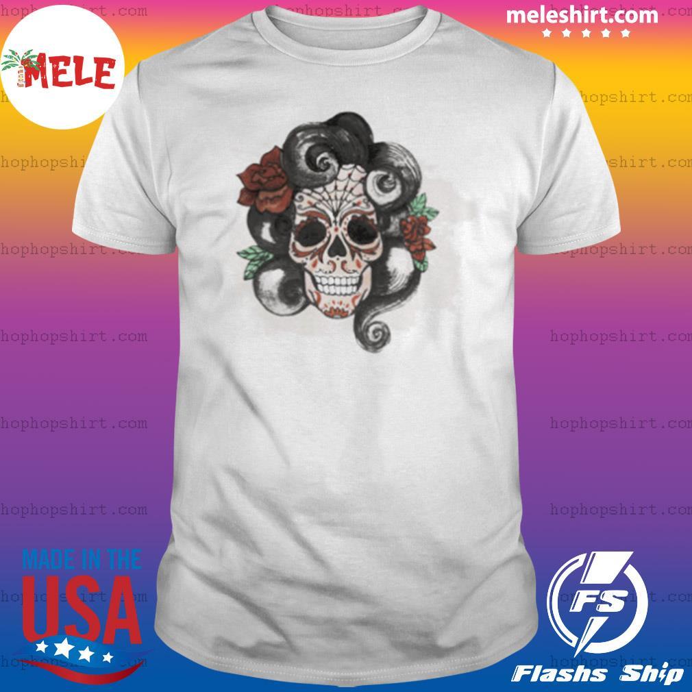 Dia De Muertos Woman Sugar Skull shirt