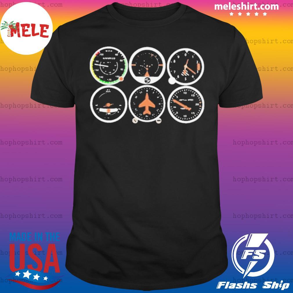 Airplane Basic Instruments shirt