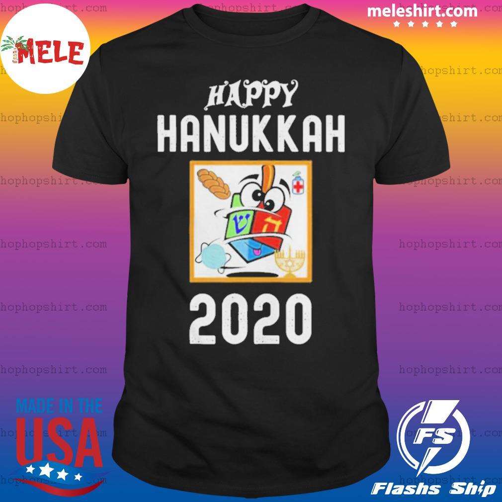Happy hanukkah 2020 sanitizer and challah shirt