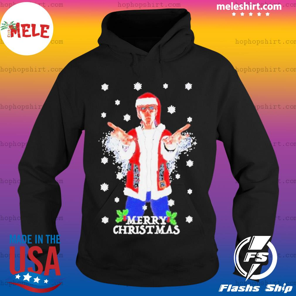 Ian Brown Godlike Merry Christmas s Hoodie