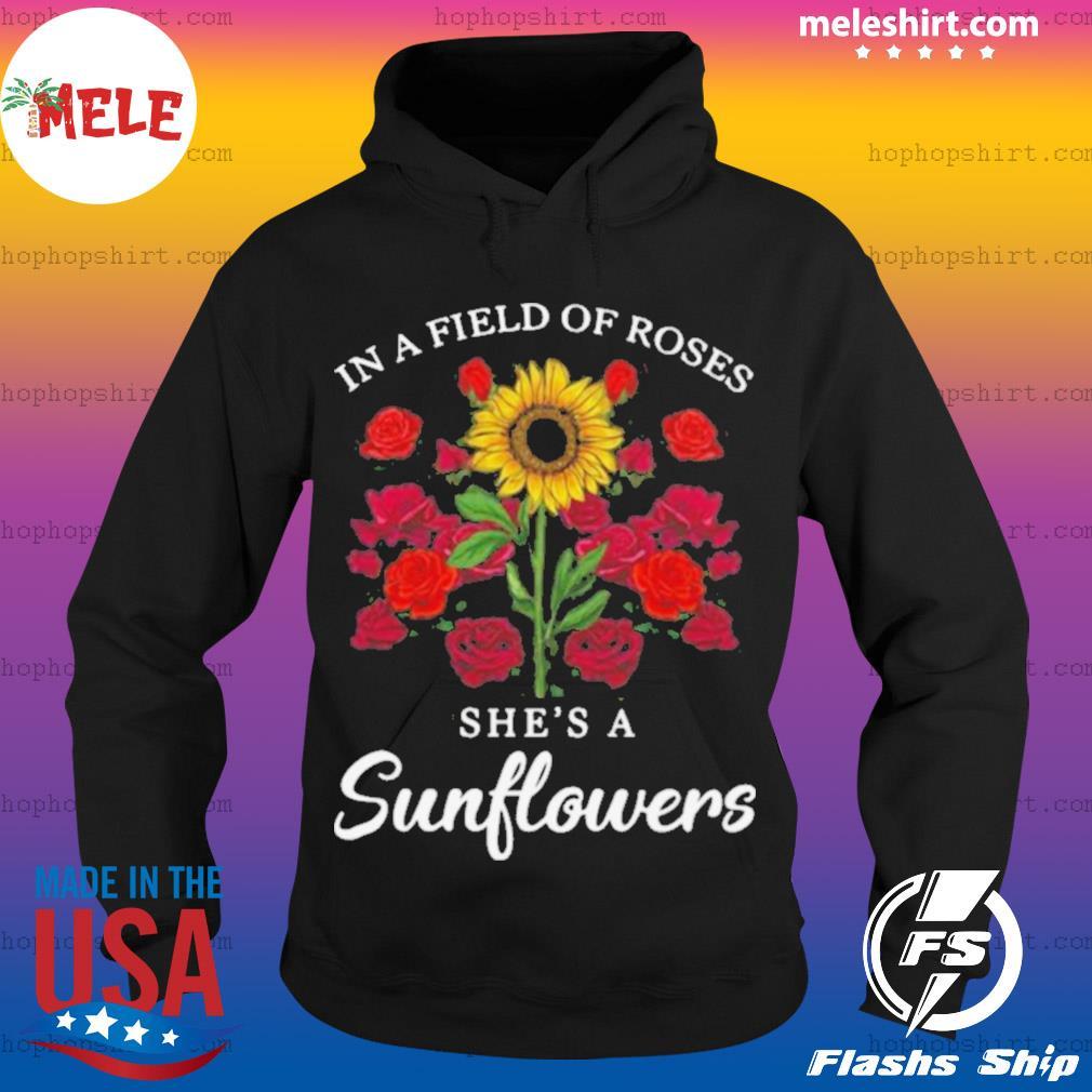 Jack Skellington In Field Of Roses She's A Sunflowers s Hoodie