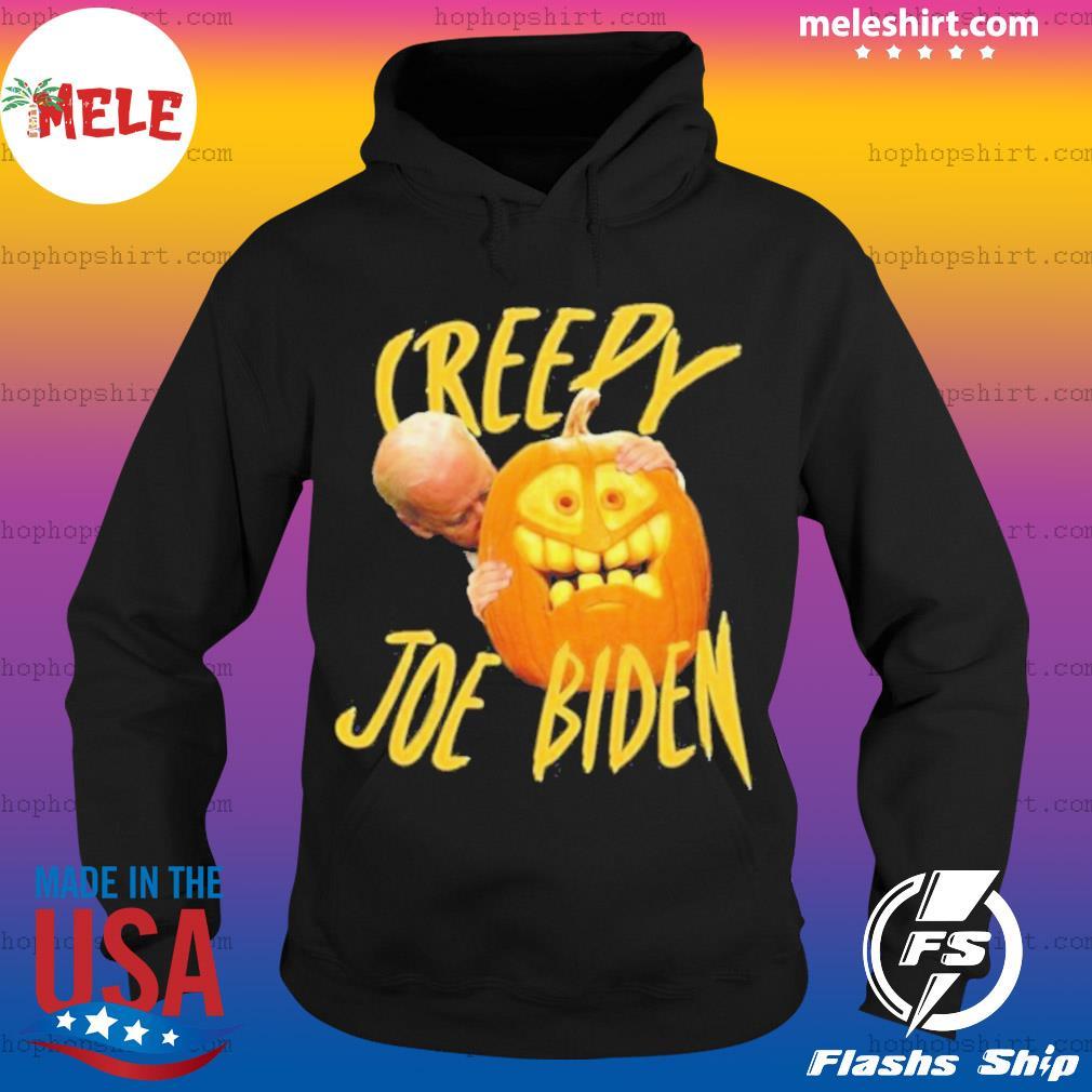 Joe Biden Hug Pumpkin Creepy s Hoodie