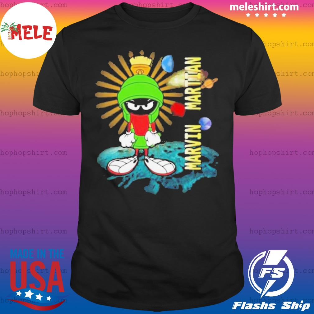 Looney Tunes Marvin Martian shirt