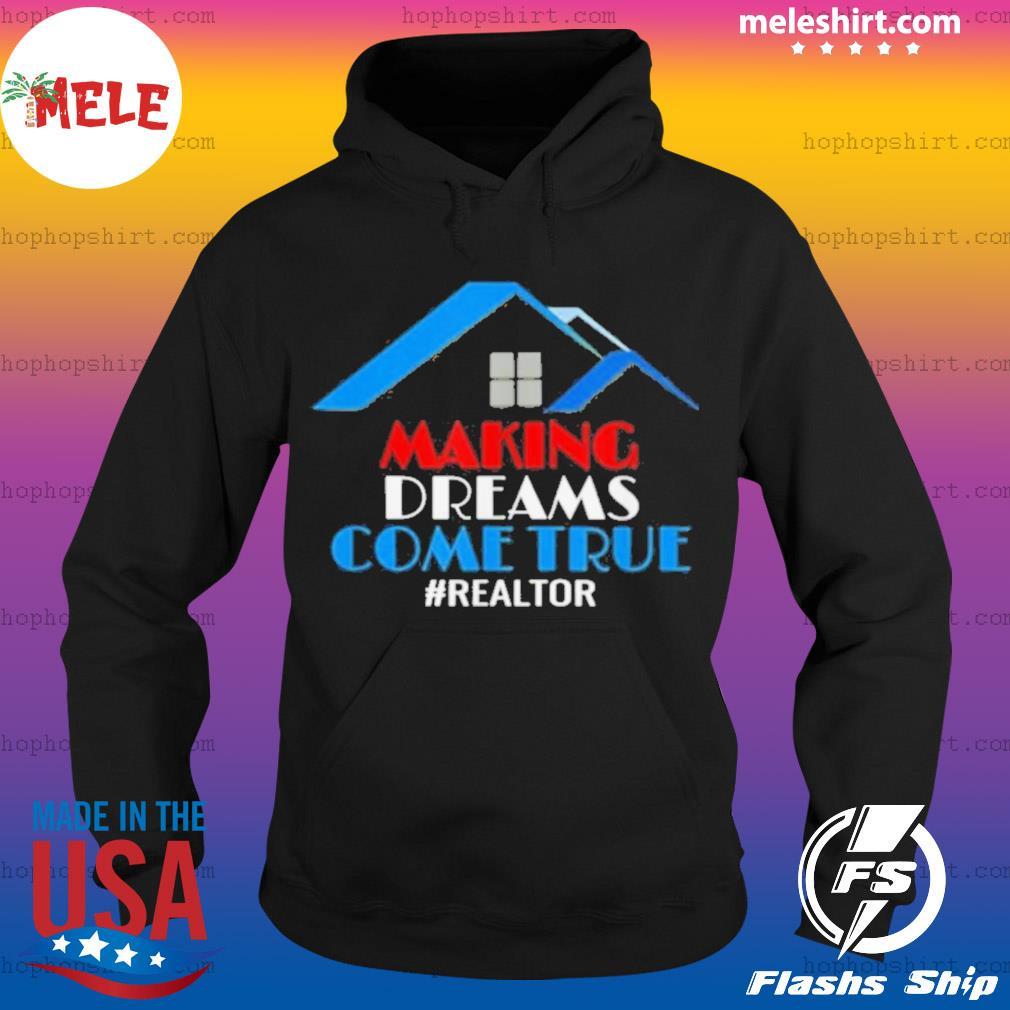 Making Dreams Come True Patriotic Realtor s Hoodie