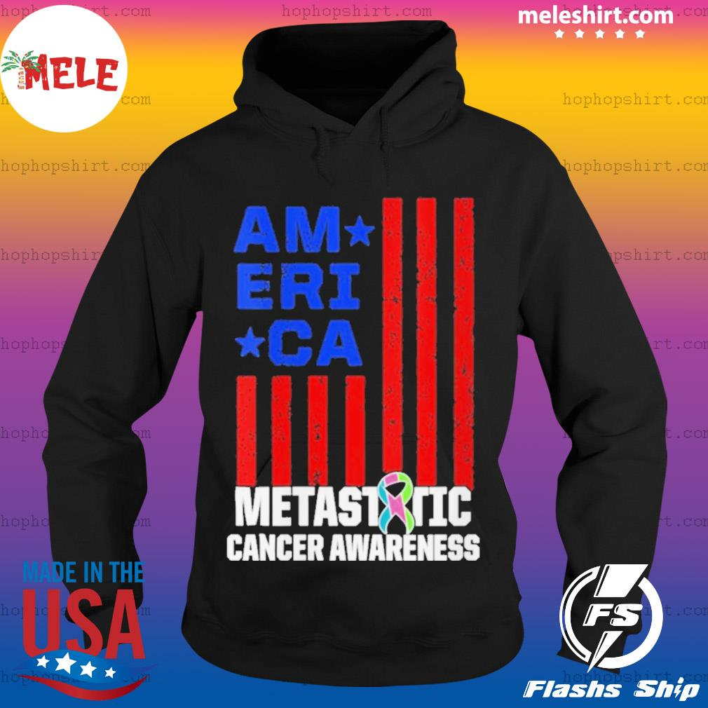 Metastatic Breast Cancer Awareness Learning US Warrior s Hoodie