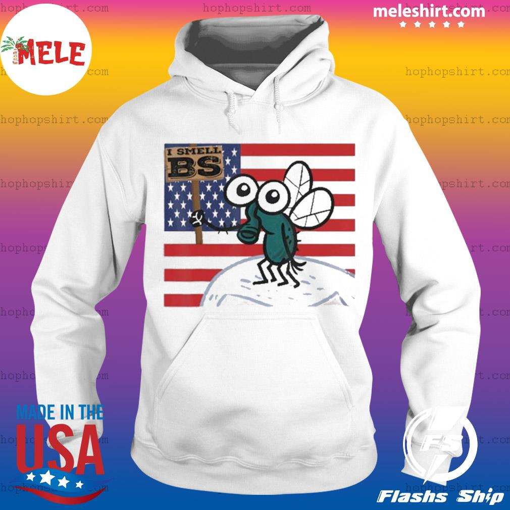 Mike Pence's Fly I smell BS American flag s Hoodie