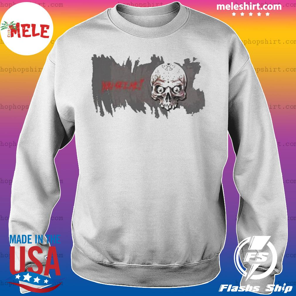 Skull You See Me Happy Halloween s Sweater