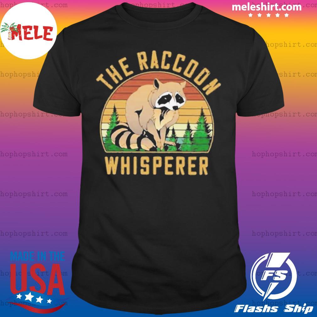 The Racoon Whisperer Vintage Retro shirt