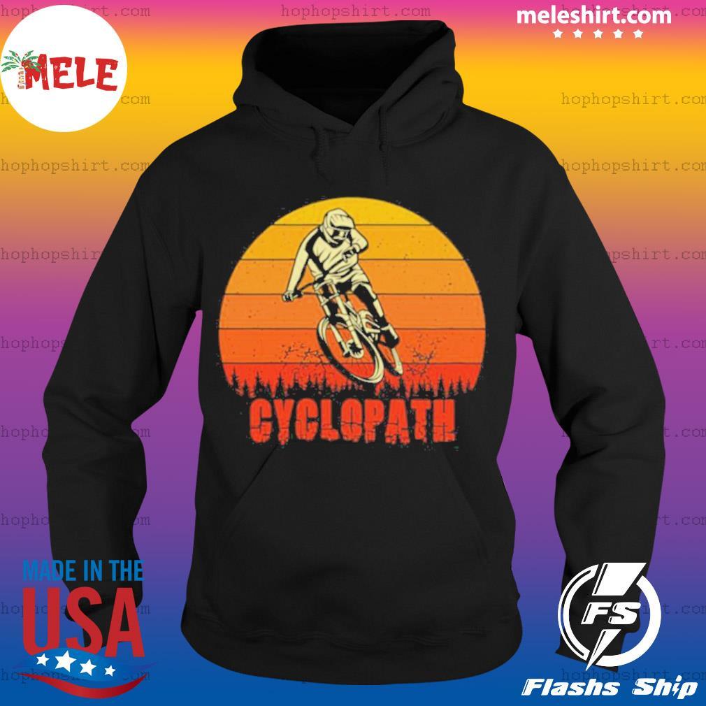 Vintage Cyclopath MTB Bike Sunset s Hoodie