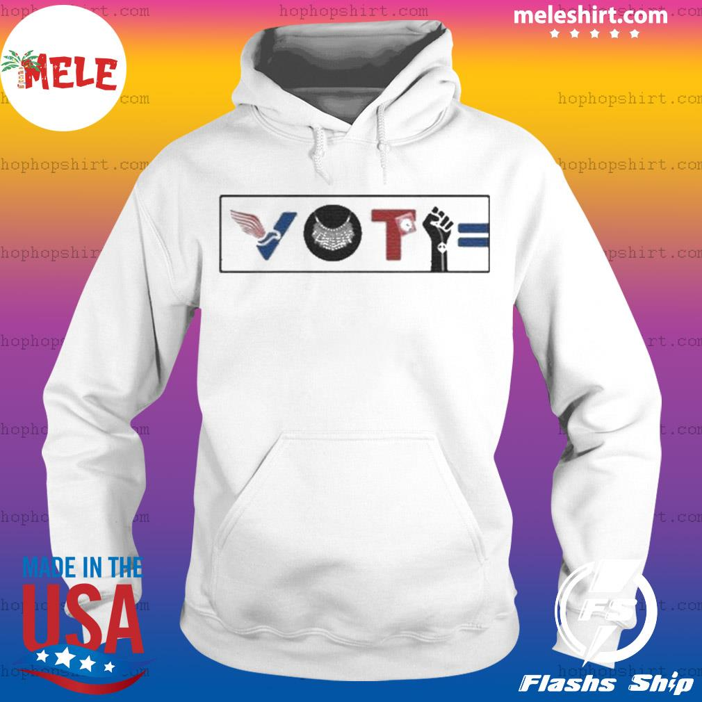 Vote For Liberty RBG Peace BLM Equality s Hoodie