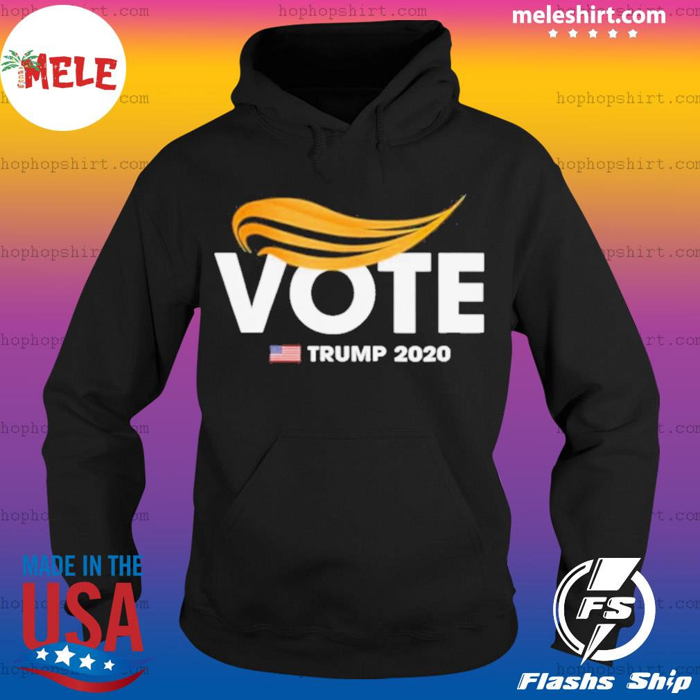 Vote Vintage Trump Elections 2020 Republican Voter s Hoodie