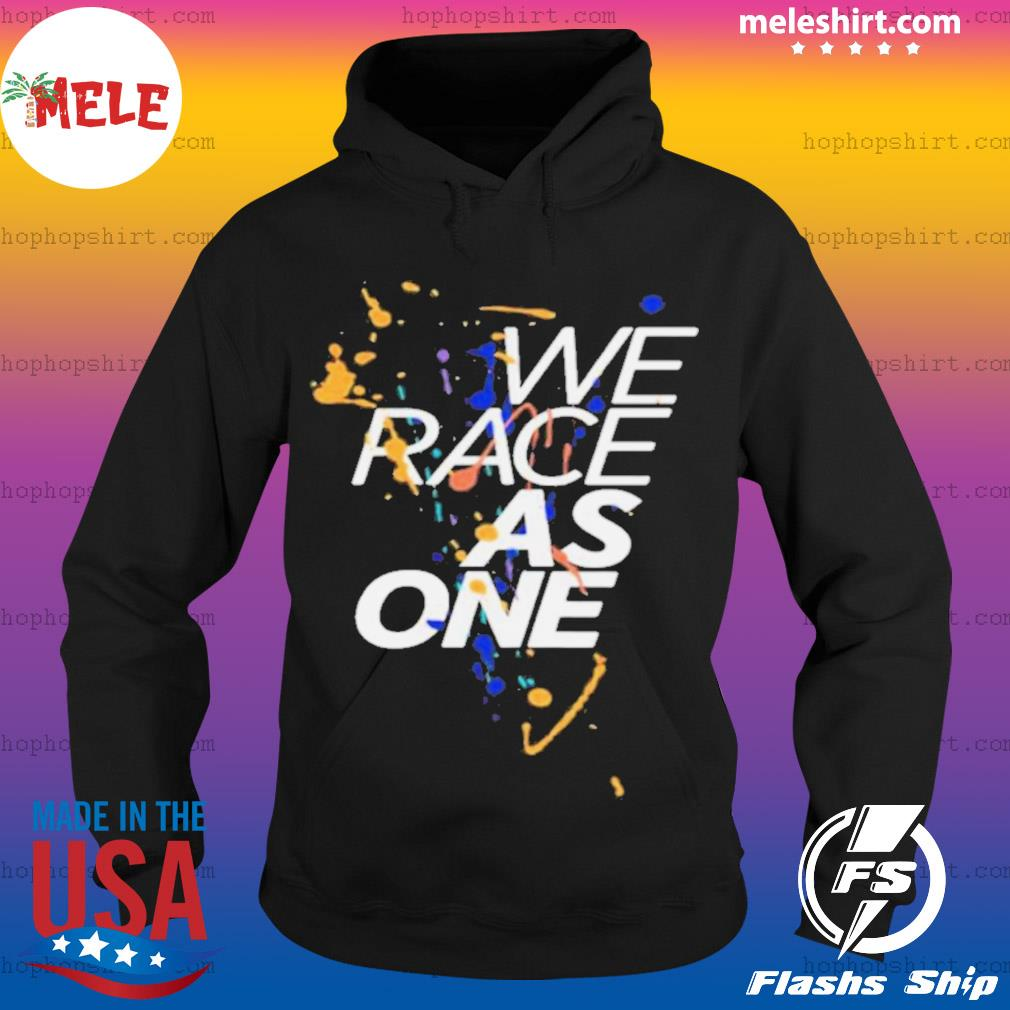 We Race As One Mind s Hoodie