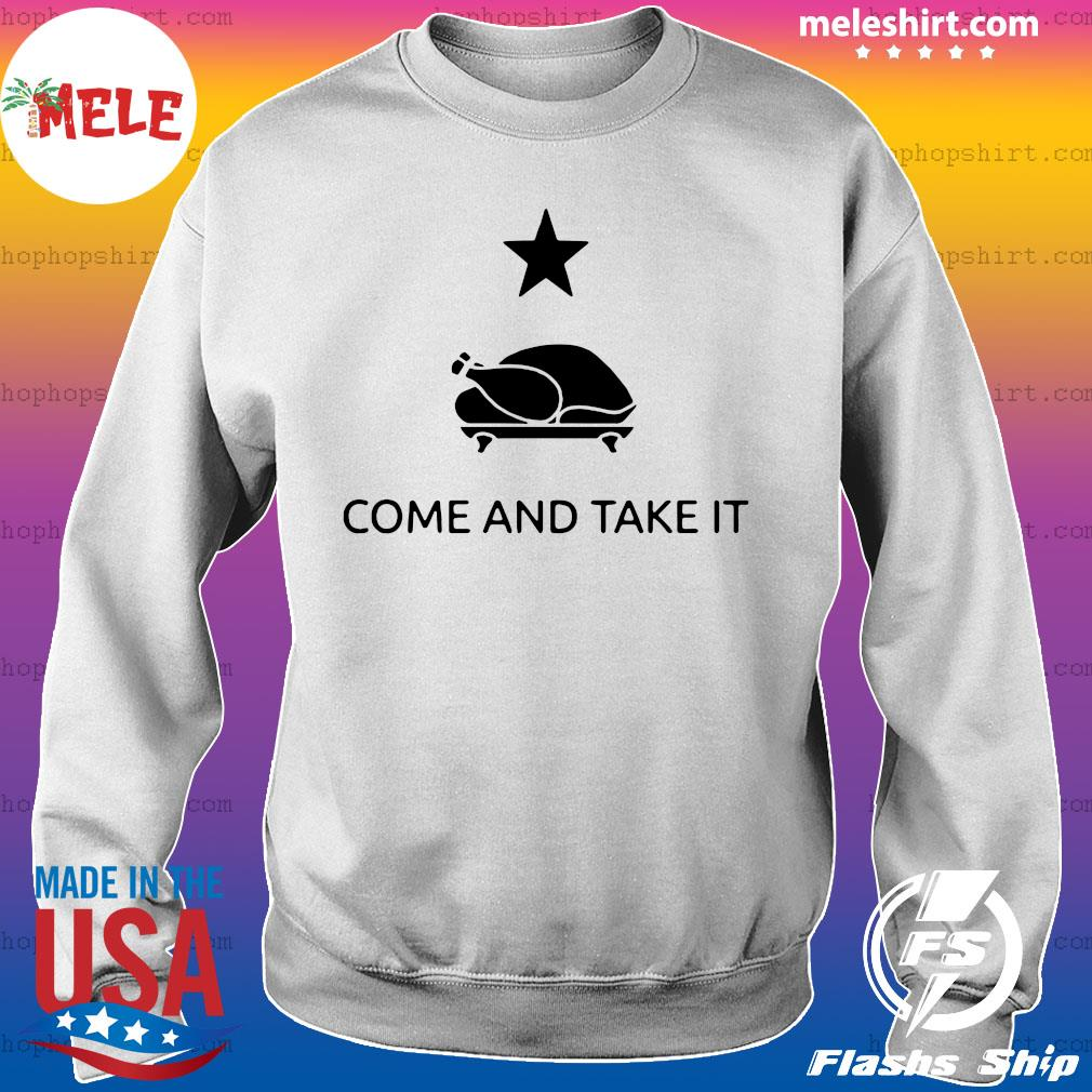 Gonzales Texas Come And Take It Thanksgiving Shirt Sweater