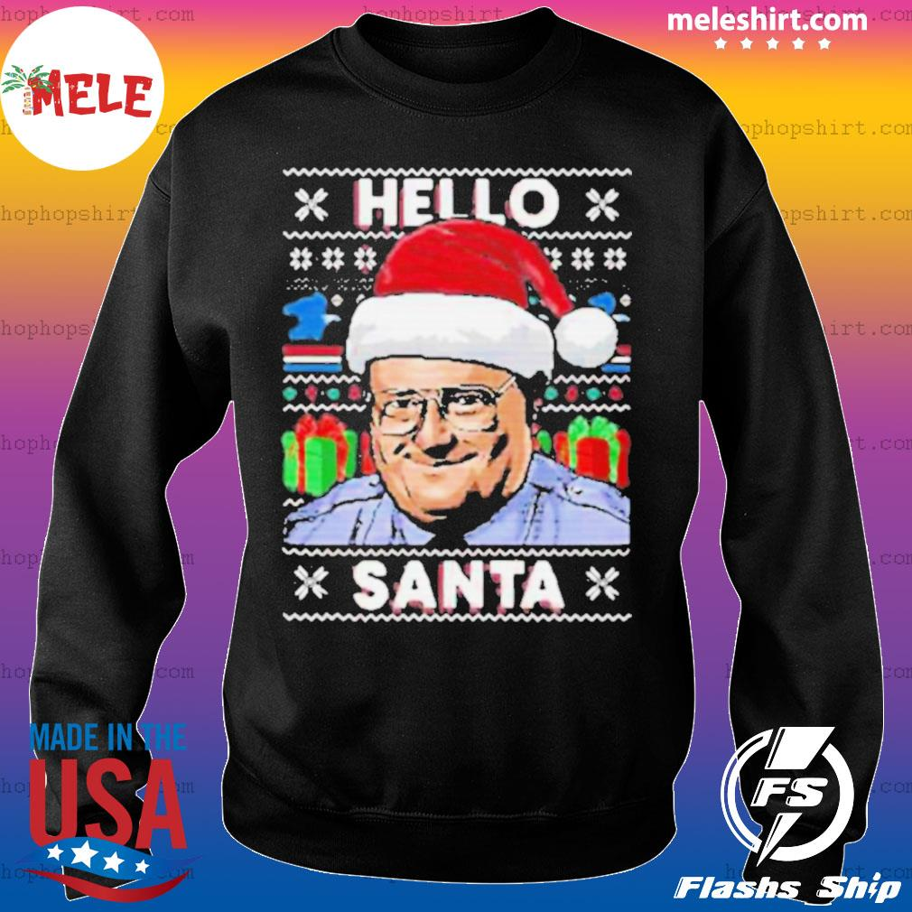 Hello santa ugly christmas sweatshirt