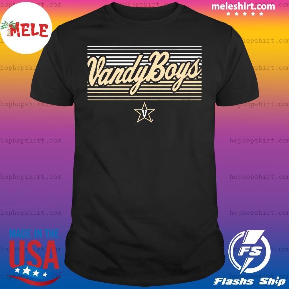 Vandy Boys Shirt – Vanderbilt Officially Licensed Tee Shirt