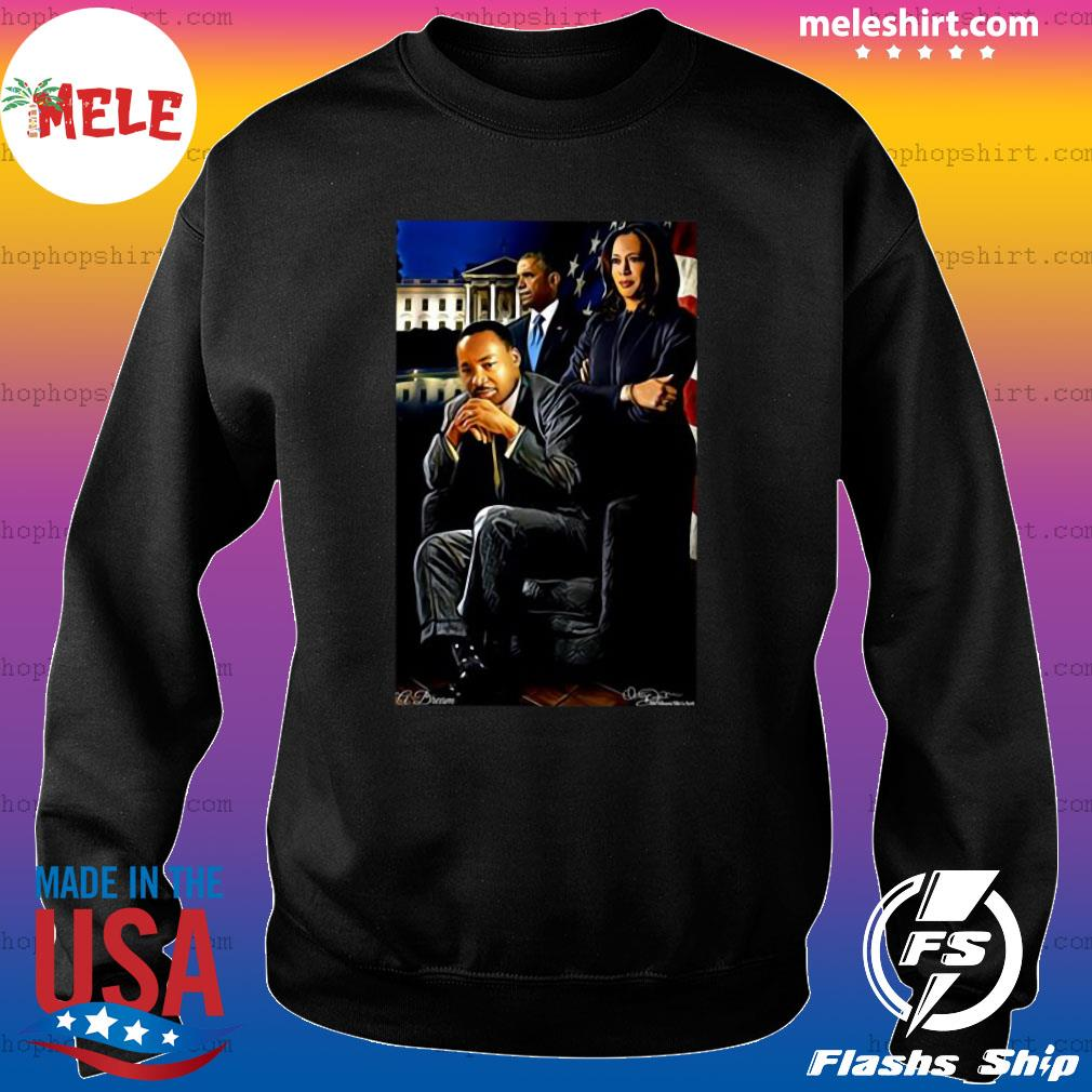 Martin Luther King Jr Kamala Harris And Barack Obama American President Shirt Sweater